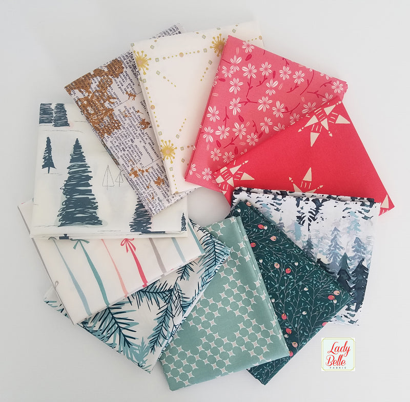 Merry & Bright by Art Gallery Fabrics Fat Quarter Bundle