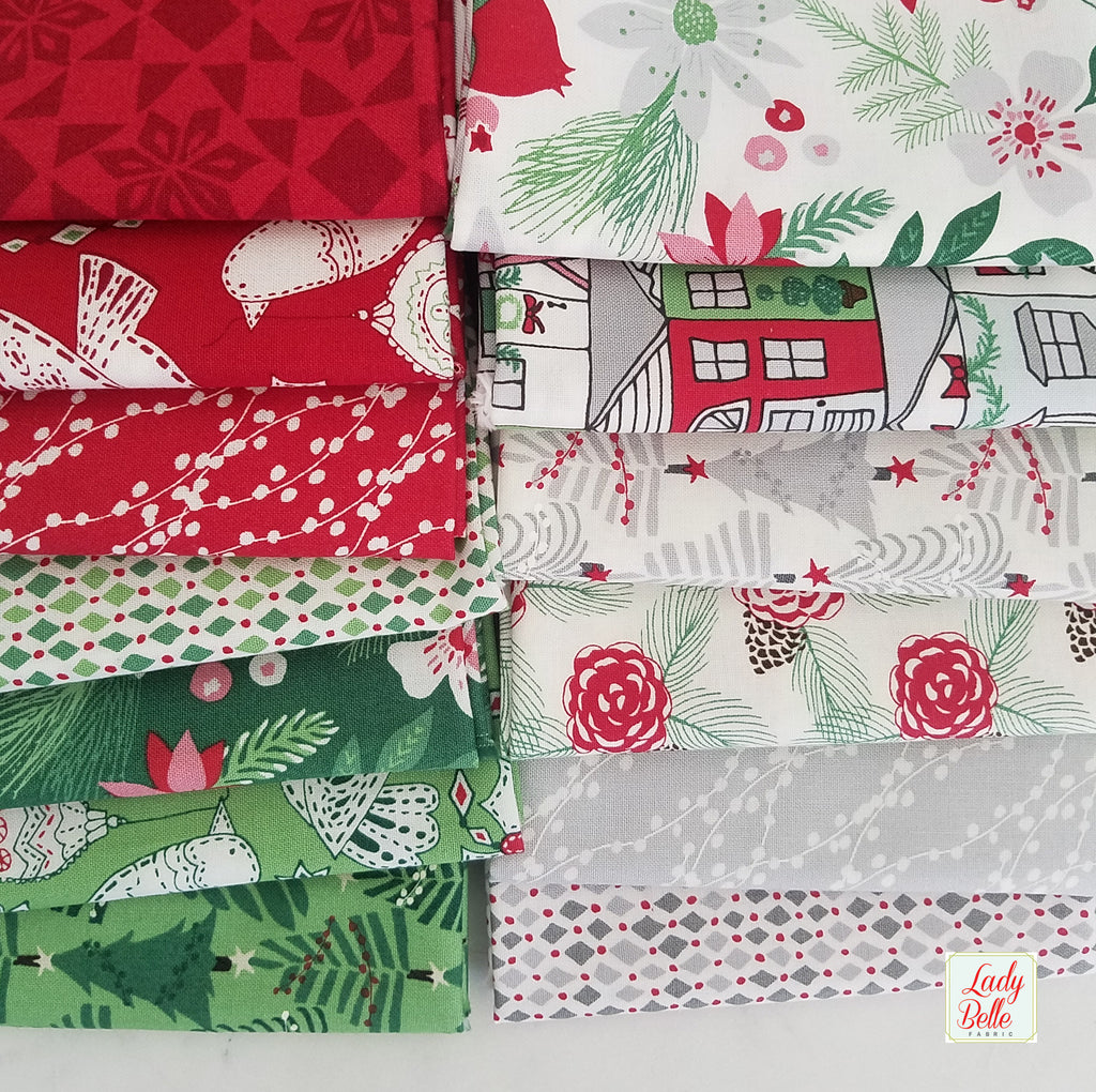 Merry Merry by Kate Spain for Moda 13 Piece Fat Quarter Bundle