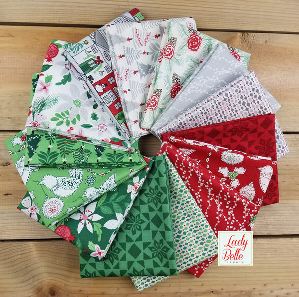 Merry Merry by Kate Spain for Moda Half Yard Bundle