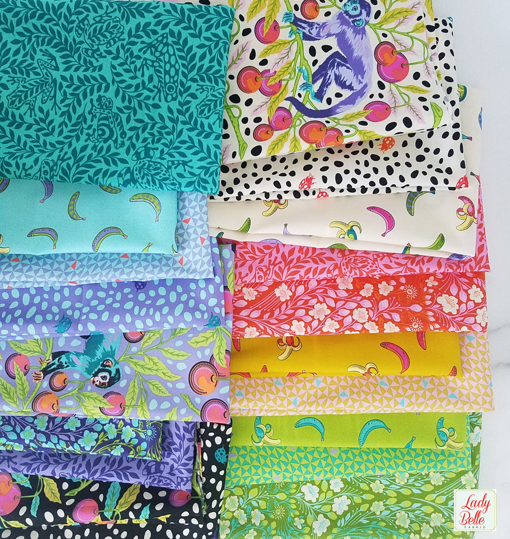 Monkey Wrench by Tula Pink for Free Spirit Half Yard Bundle