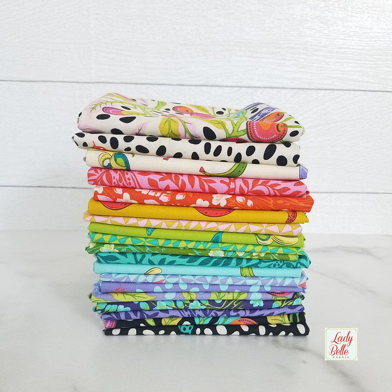 Monkey Wrench by Tula Pink for Free Spirit Fat Quarter Bundle