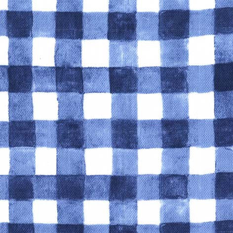 Sommer Navy Gingham Double Gauze by Sarah Jane for Michael Miller