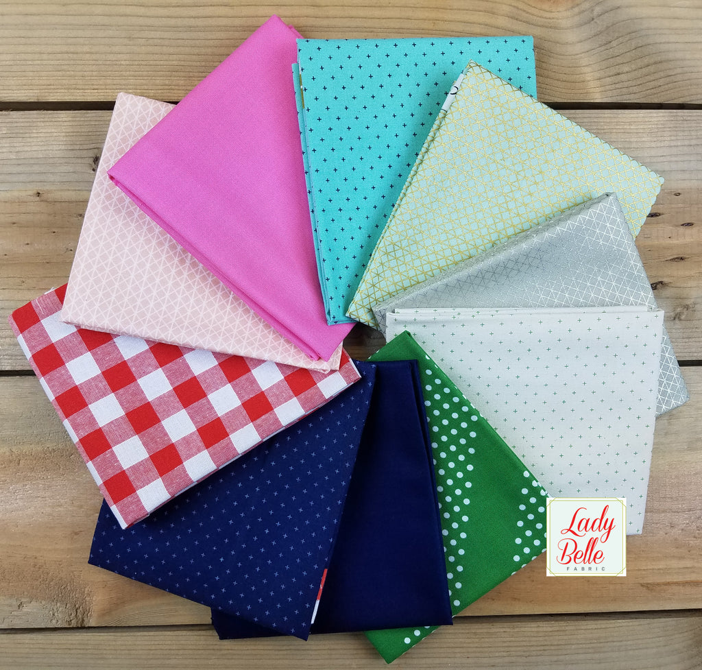 Noel Basics by Cotton and Steel Fat Quarter Bundle