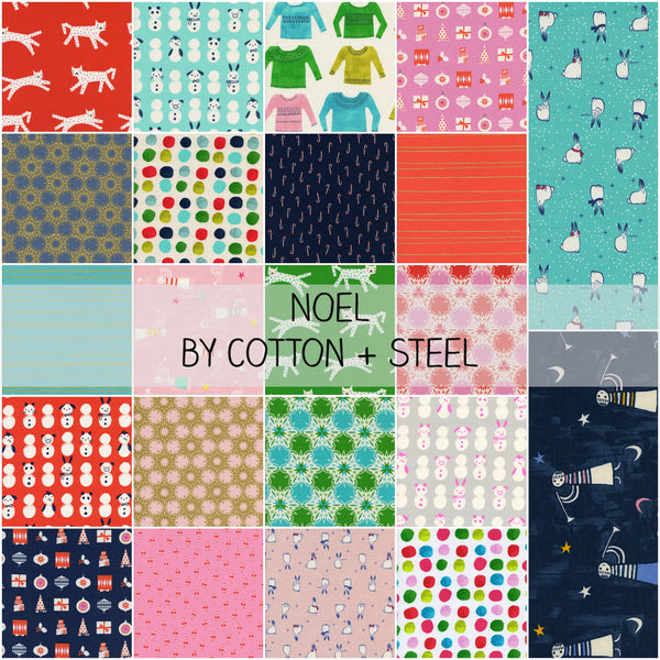Noel by Cotton and Steel Half Yard Bundle