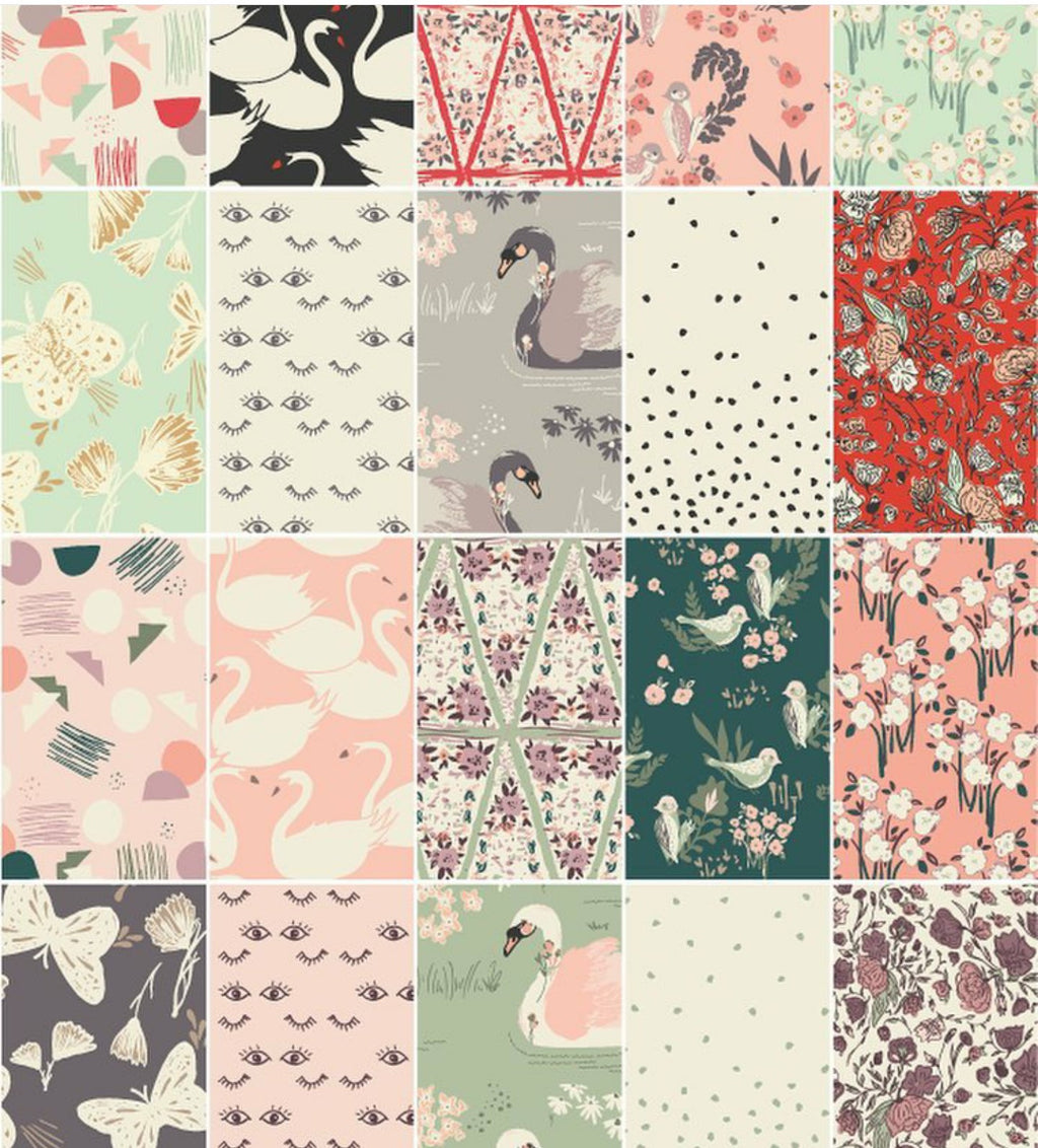 Hello Ollie by Bonnie Christine for Art Gallery Fabrics Fat Quarter Bundle (organic)