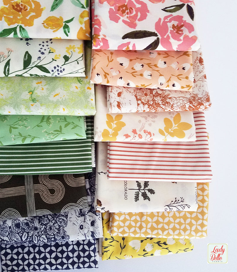 The Open Road by Bonnie Christine for Art Gallery Fabrics Fat Quarter Bundle