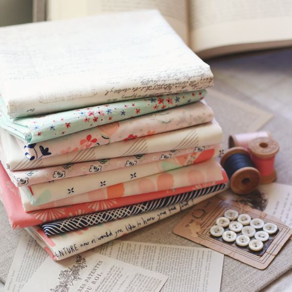 Paperie by Amy Sinibaldi for Art Gallery Fabrics Fat Quarter Bundle