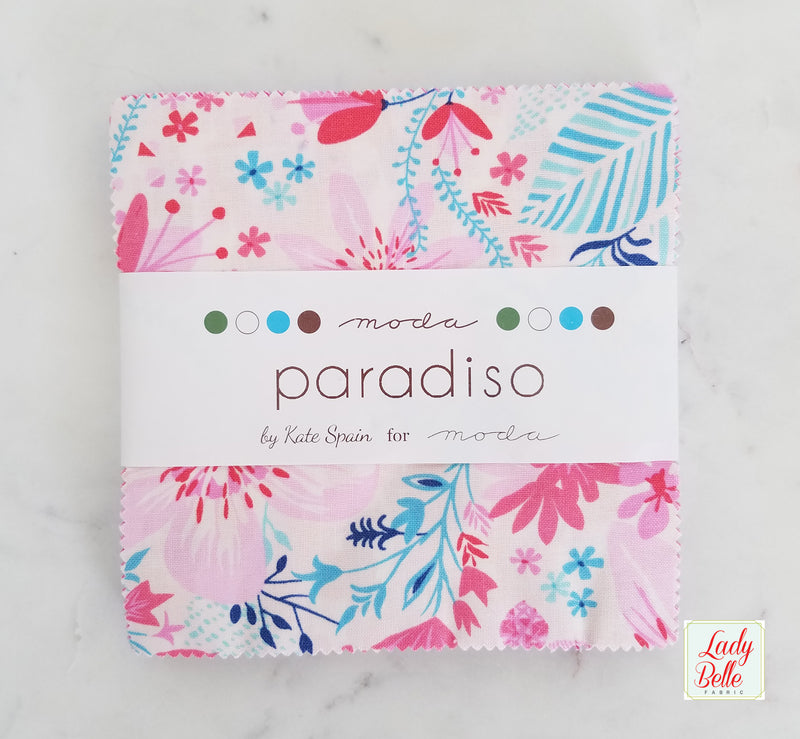 Paradiso by Kate Spain for Moda Charm Pack