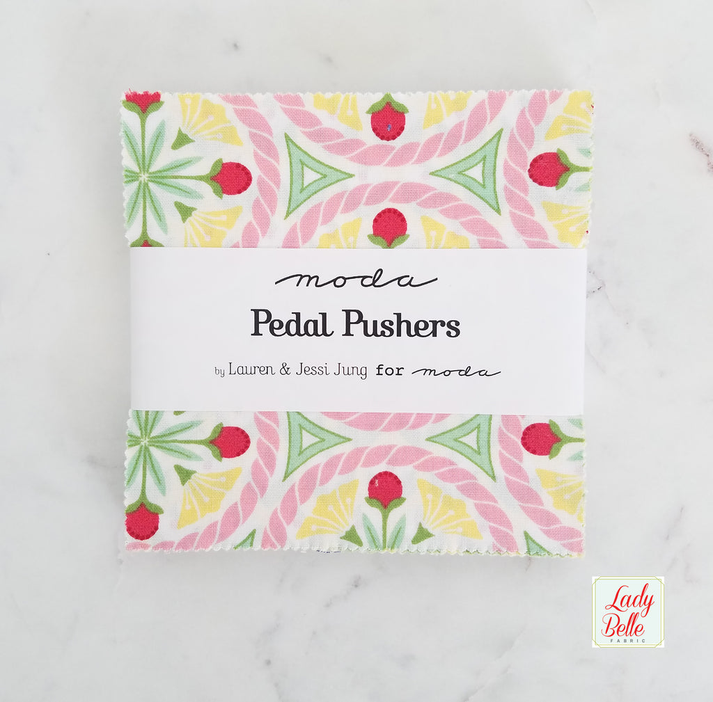 Pedal Pushers by Lauren and Jessi Jung for Moda Charm Pack