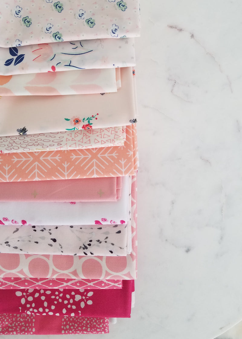 Blush Bundle by Lady Belle Fabric
