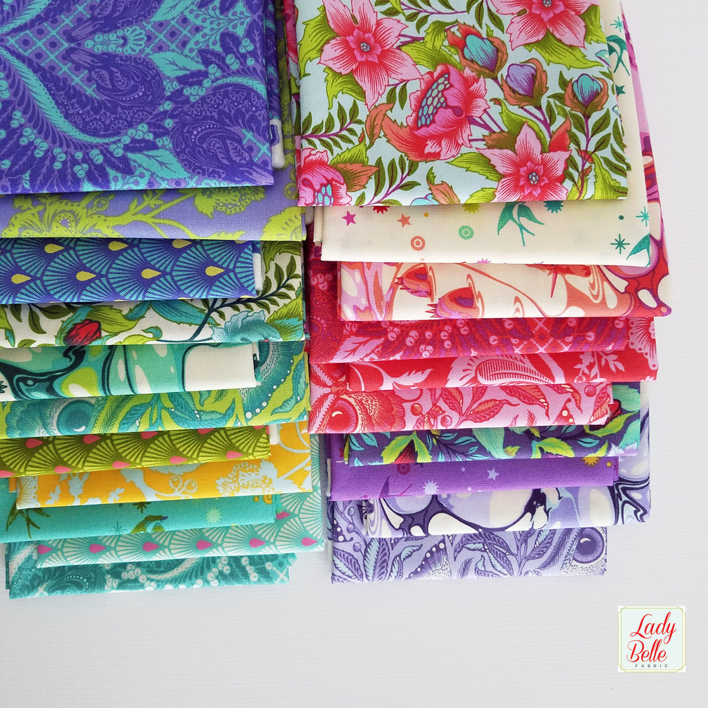 Pinkerville by Tula Pink for Free Spirit Fabrics Fat Quarter Bundle