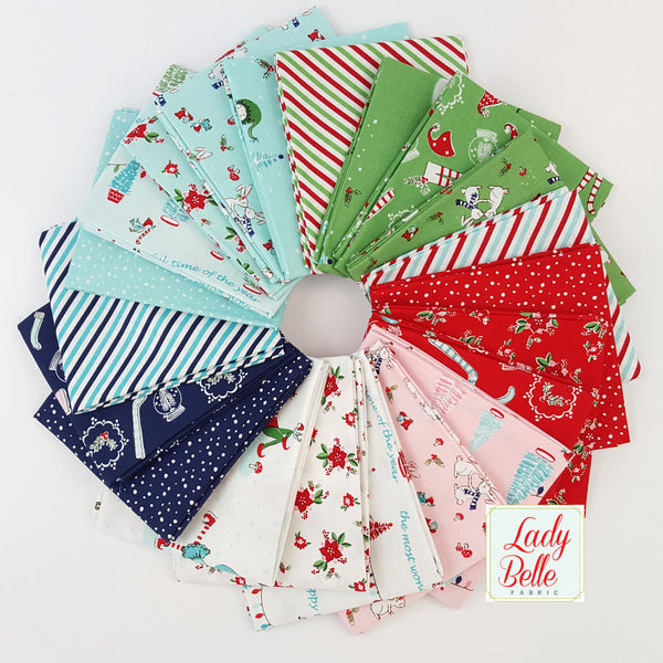 Pixie Noel by Tasha Noel for Riley Blake Fat Quarter Bundle