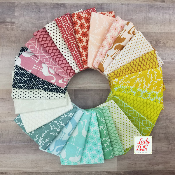 Pond by Elizabeth Hartman for Robert Kaufman Fat Quarter Bundle