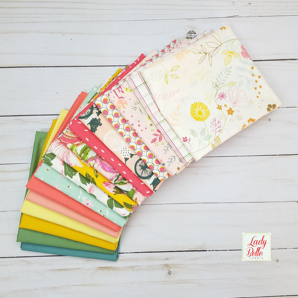 Printemps Fusion Solids by Art Gallery fabrics Half Yard Bundle