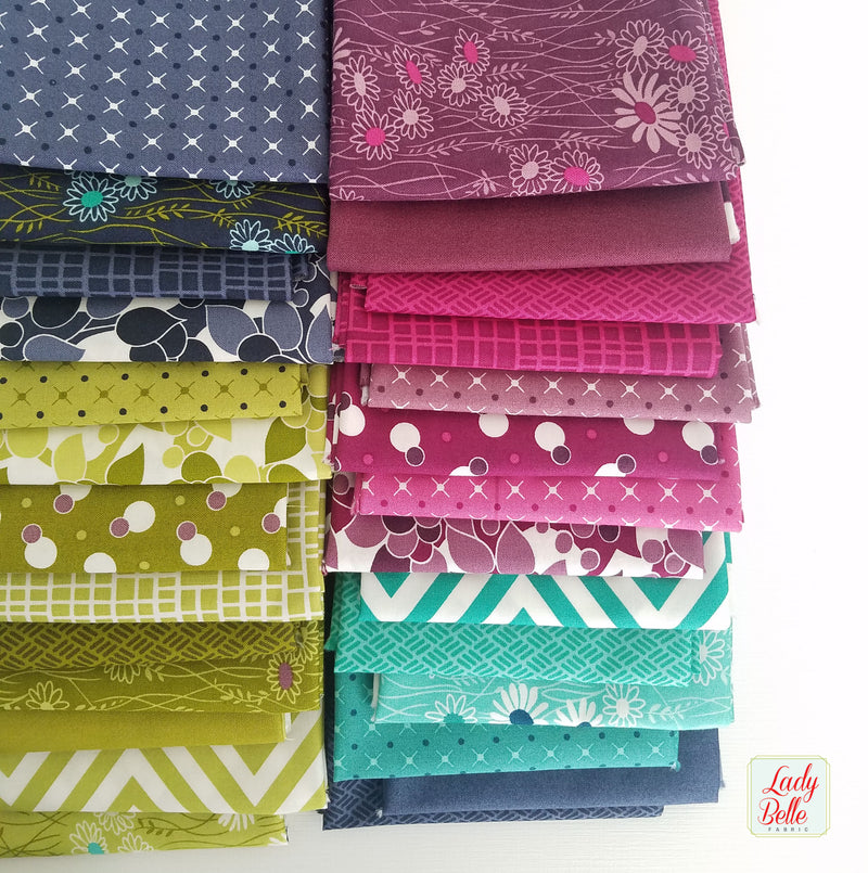 Simply Colorful II by V and Co. for Moda Fat Quarter Bundle