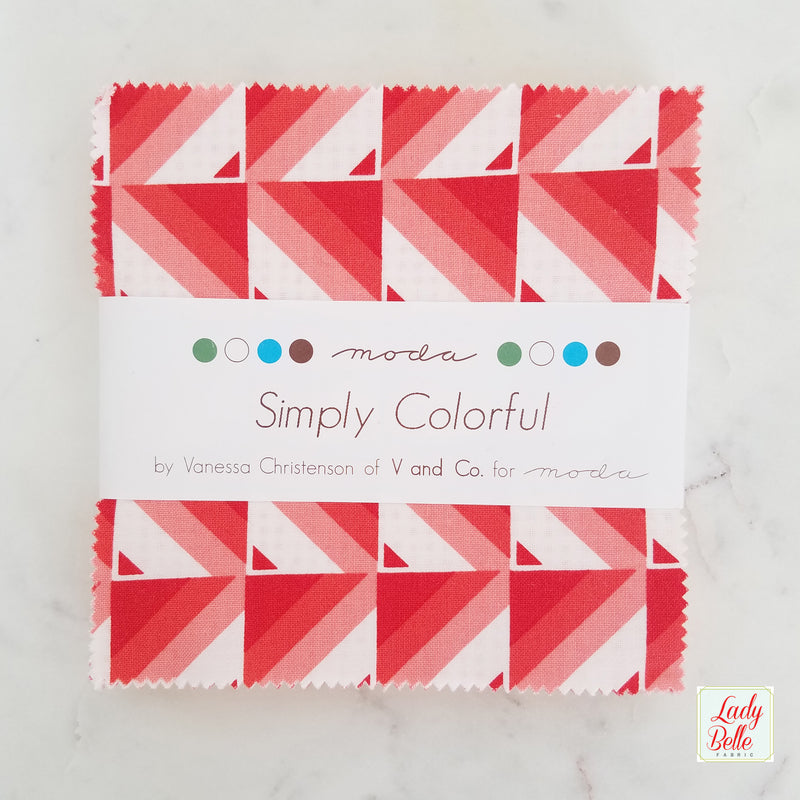 Simply Colorful by V and Co for Moda Charm Pack