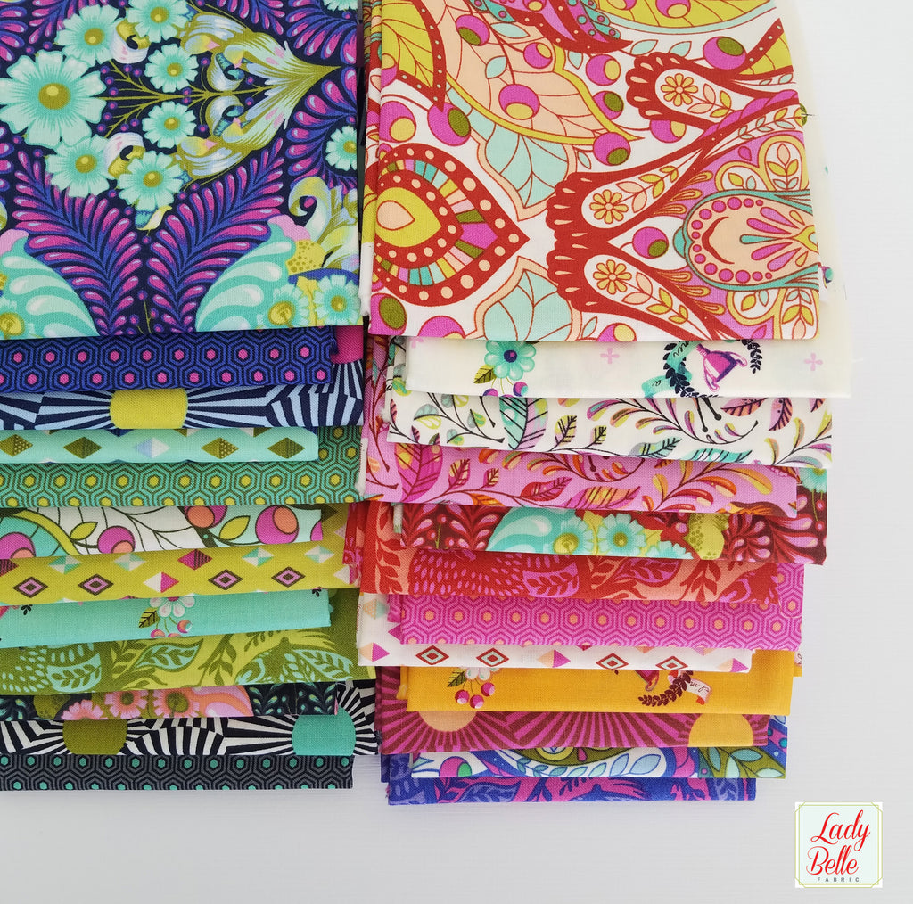 Slow and Steady by Tula Pink for Free Spirit Fat Quarter Bundle