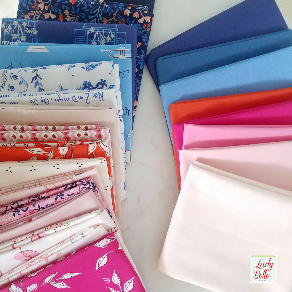 Sonata Basics by Amy Sinibaldi for Art Gallery Fabrics Half Yard Bundle