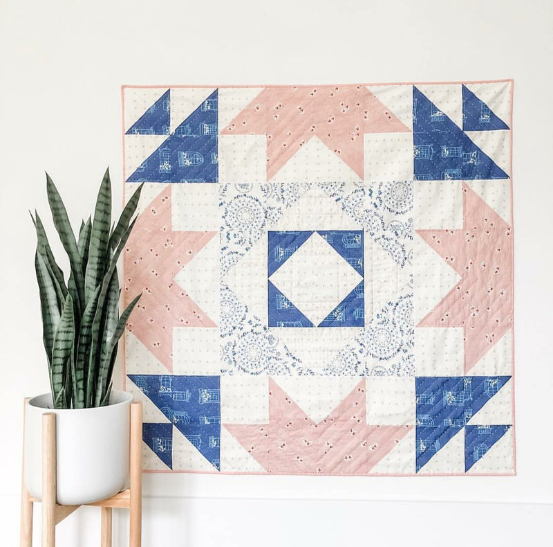 Vienna Quilt Kit with Sonata Fabrics by Elizabeth Chappell
