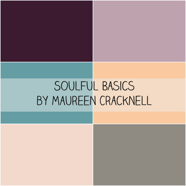 Soulful Basics by Maureen Cracknell for Art Gallery Fabrics Half Yard Bundle