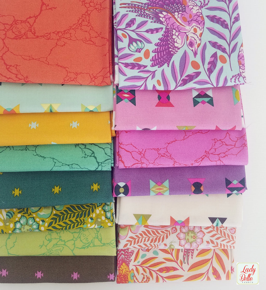 Spirit Animal by Tula Pink for Free Spirit Fat Quarter Bundle