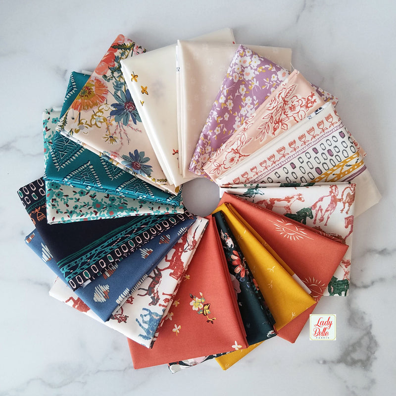 Spirited by Sharon Holland for Art Gallery Fabrics Fat Quarter Bundle