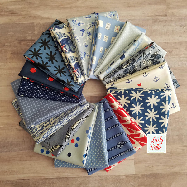 S.S. Bluebird by Cotton and Steel Fat Quarter Bundle