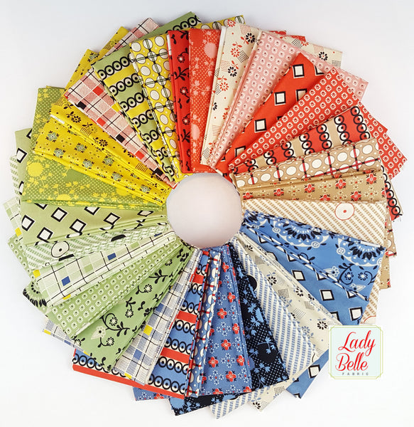 Stonington by Denyse Schmidt for Free Spirit Fat Quarter Bundle