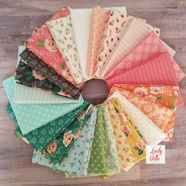Sugar Pie by Lella Boutique for Moda Half Yard Bundle