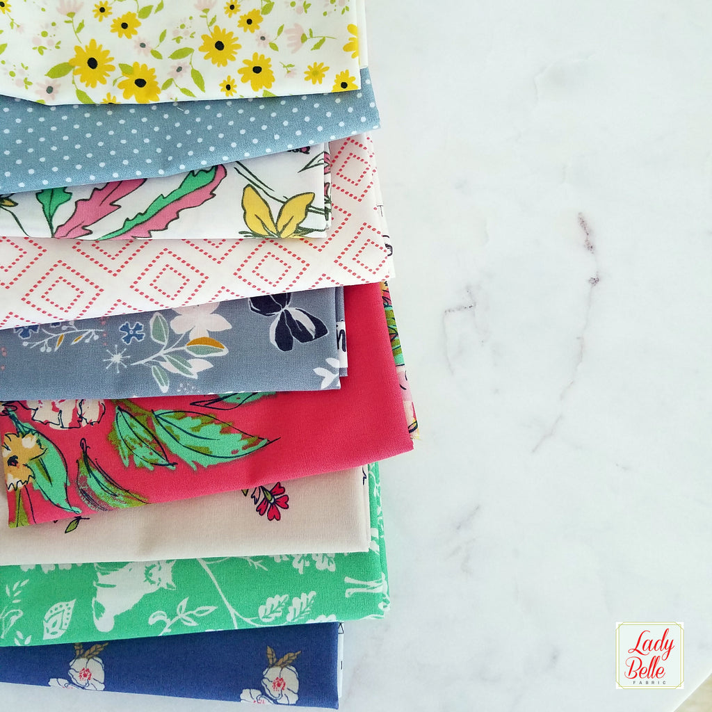 Summer Flowers Fat Quarter Bundle with Art Gallery Fabrics
