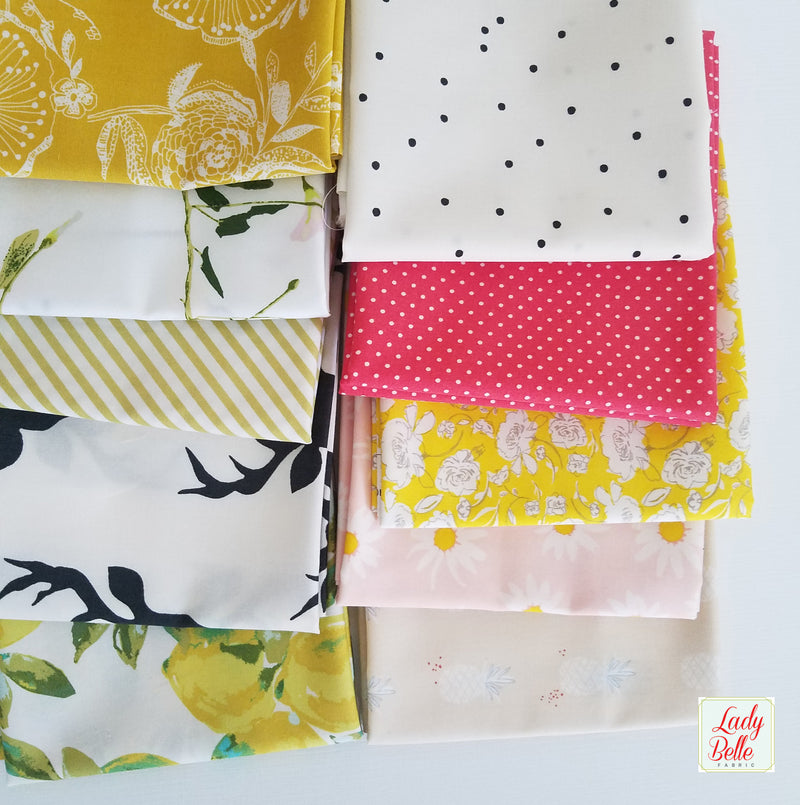 Summer Melon Half Yard Bundle with Art Gallery Fabrics
