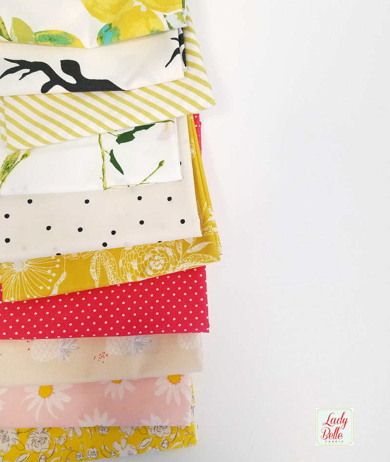Summer Melon Fat Quarter Bundle for Art Gallery Fabrics