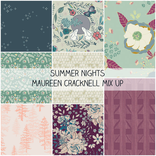 Summer Nights Maureen Cracknell Mix Up Half Yard Bundle
