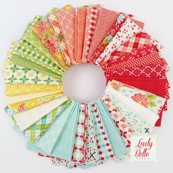 Summerfest by April Rosenthal for Moda Fat Quarter Bundle