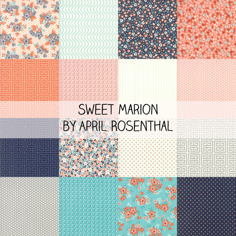 Sweet Marion by April Rosenthal for Moda Fat Quarter Bundle