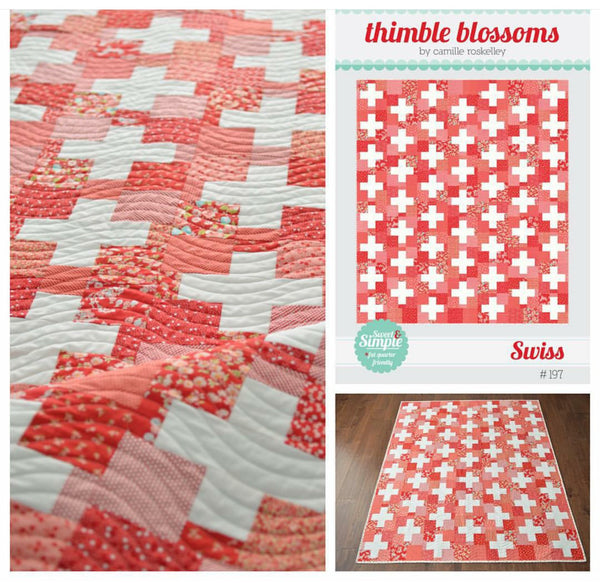 Swiss Quilt Kit by Thimble Blooms for Moda (Bonnie and Camille)