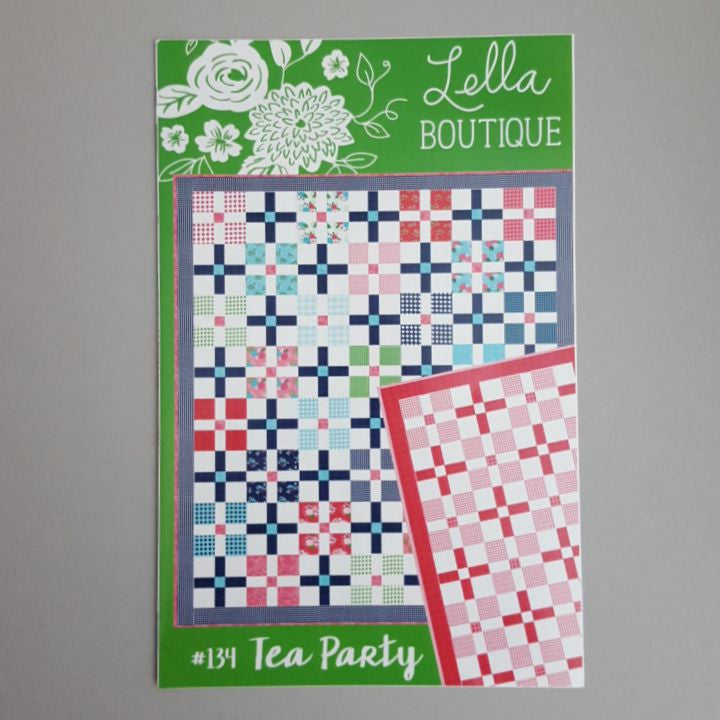 tea party quilt pattern moda fabrics