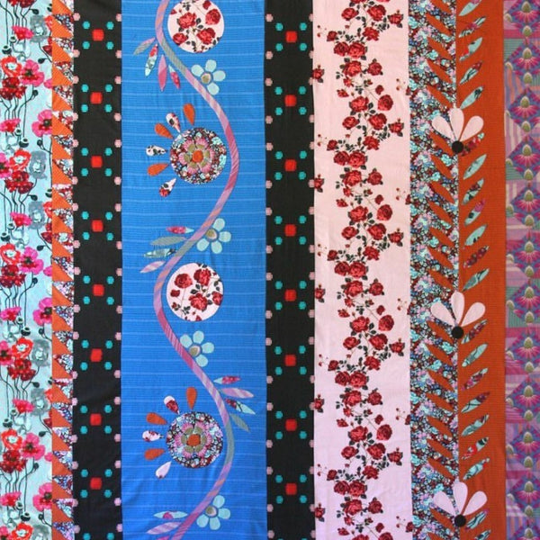 Traveling Blooms Quilt Kit by Anna Maria Horner for Free Spirit