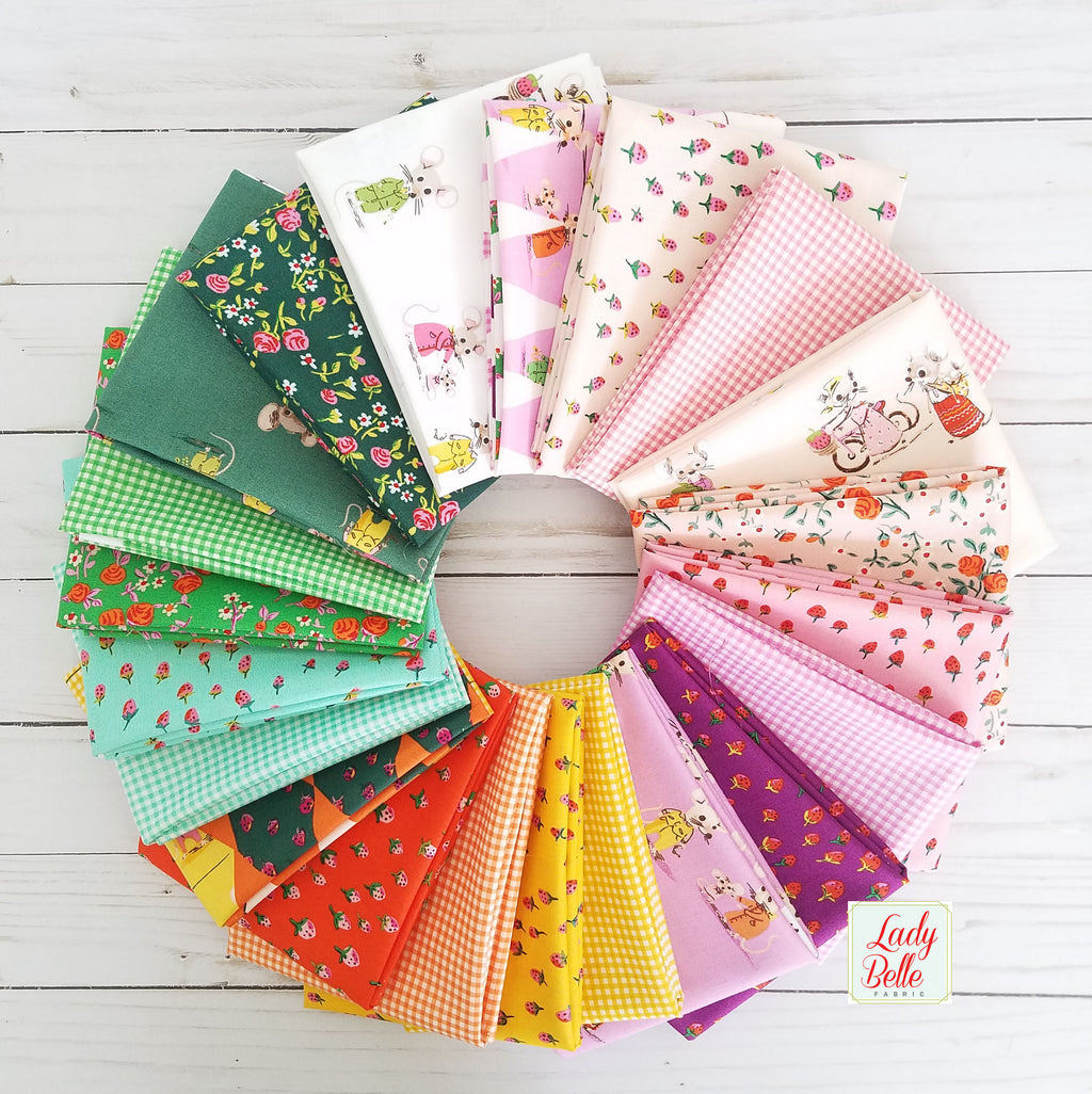Trixie by Heather Ross for Windham Fabrics Yard Bundle