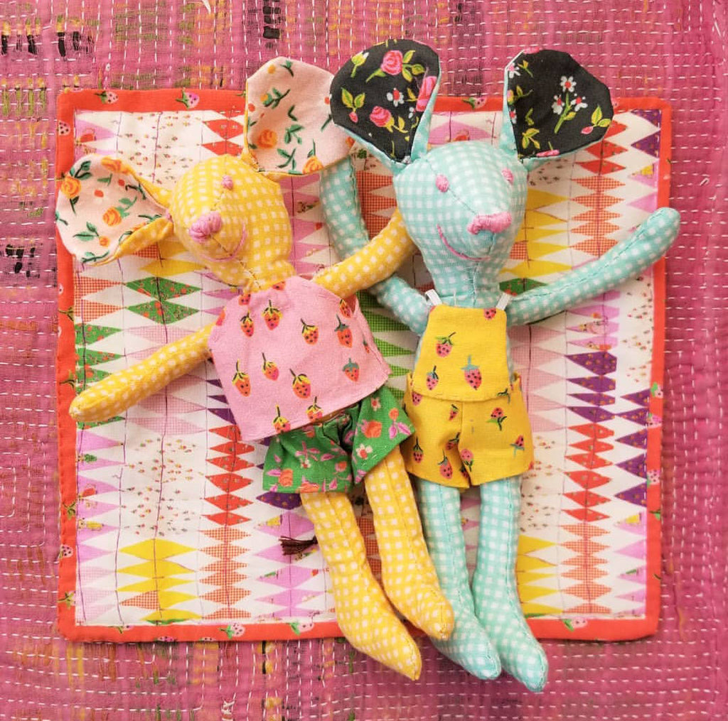Trixie Doll Panel by Heather Ross for Windham Fabrics