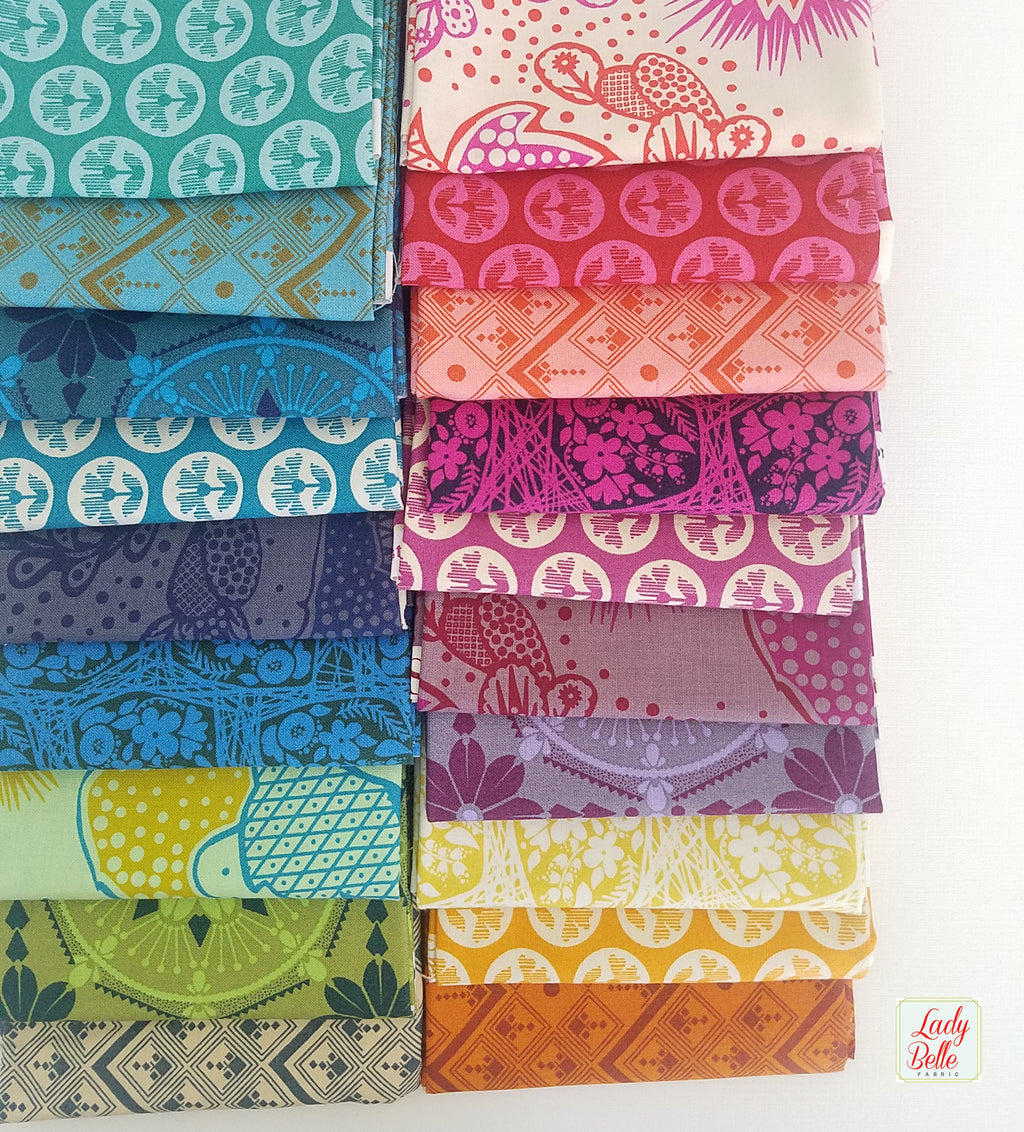 True Colors by Anna Marie Horner for Free Spirit Fabrics fat Quarter Bundle