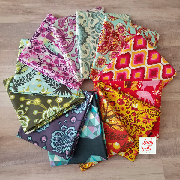 Tula Pink Mix Up Half Yard Bundle