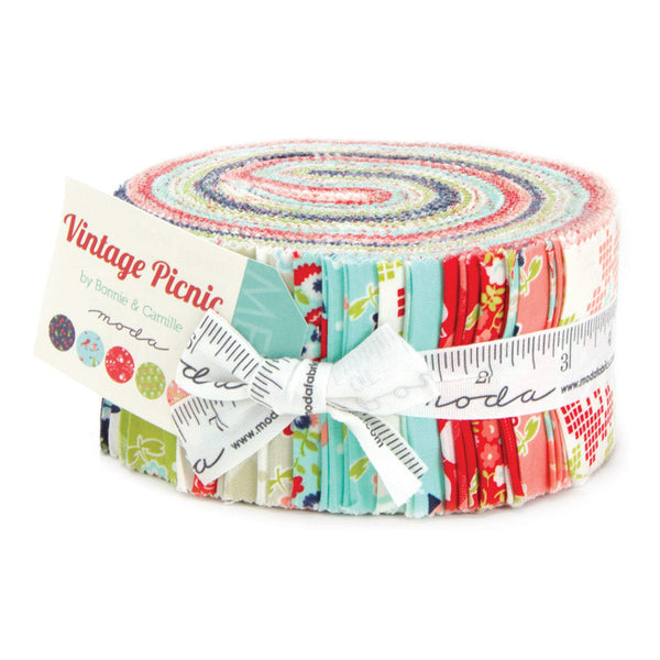 Vintage Picnic fabric, jelly roll