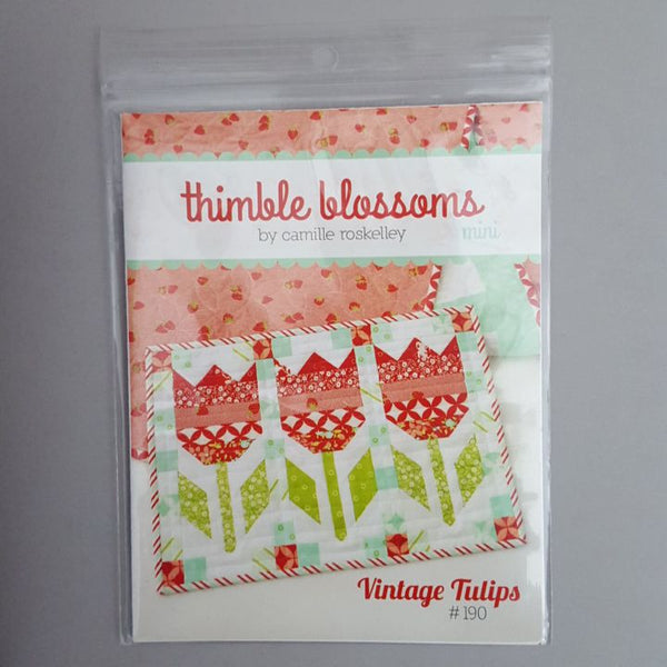 Vintage Tulips Mini by Thimble Blossoms