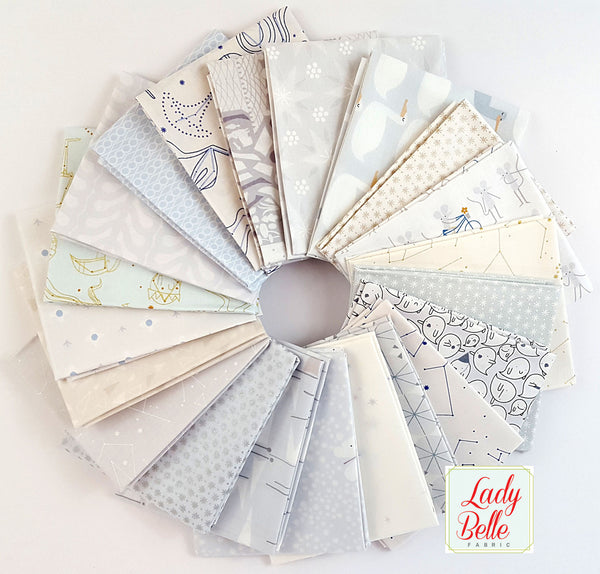 The Whisper Palette by Lizzy House for Andover Fat Quarter Bundle