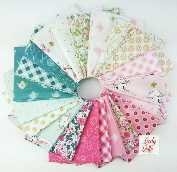 Wonderland Two by Melissa Mortenson for Riley Blake Fat Quarter Bundle