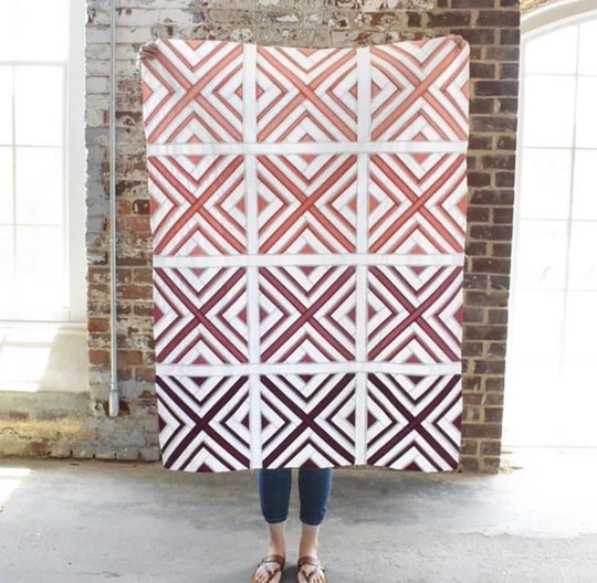 X Marks The Spot Quilt Kit by Elizabeth Chappell