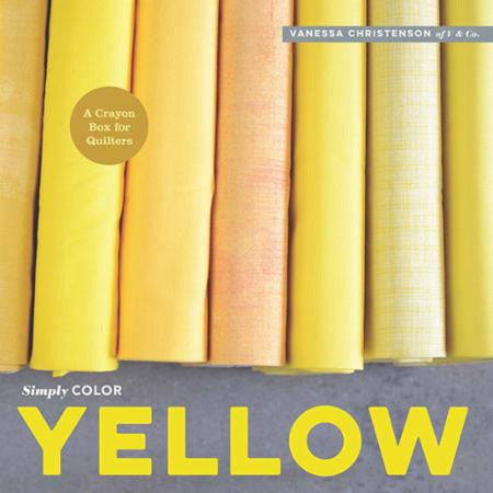 Simply Color Yellow by Vanessa Christensen of V and Co