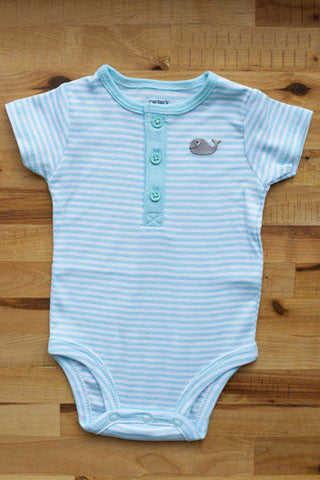 Striped Whale Onesies