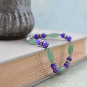 Blue and Green Aventurine Bracelet